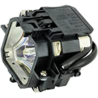 Kingoo Excellent Projector Lamp For EPSON EMP-730 Replacement projector Lamp Bulb with Housing
