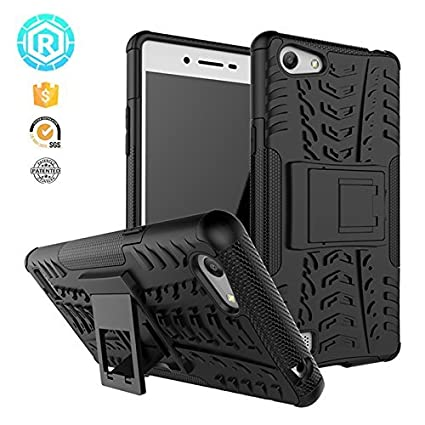 best sneakers b9a63 bef3c Delight Accessories Oppo A33/A33F Defender Case Cover With Kickstand