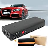 MWGEARS MWG-C230 15V 18000mAh 600A Peak Heavy Duty Portable Car Jump Starter Portable Charger Power Bank Booster Built-in LED Flashlight (FCC CE Certified)