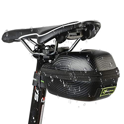 Leather Bicycle Waterproof/Rain Proof Saddle Bag Saddlebags MTB Road Bike Seat Pouch - Leather Road Saddlebag