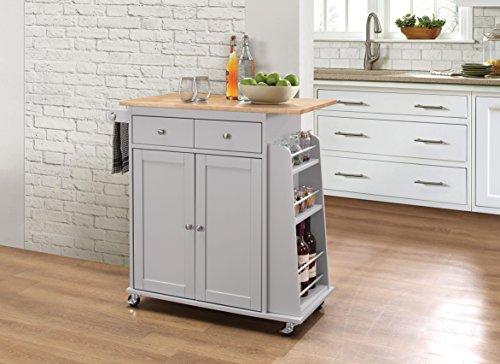 Acme Furniture 98310 Tullarick Kitchen Cart, ()
