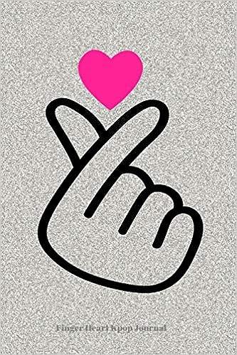 Buy Finger Heart Kpop Journal: Lined Journal Notebook for K
