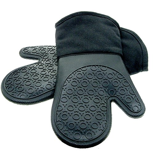 Silicone Mitts Quilted Cotton Lining product image