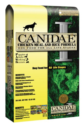 Canidae Dry Dog Food, Chicken Meal and Rice Formula, 30-Pound Bag, My Pet Supplies