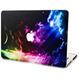 """KEC Laptop Case for MacBook Air 11"""" Plastic Case Hard Shell Cover A1465 / A1370 Space Galaxy (Color Space)"""