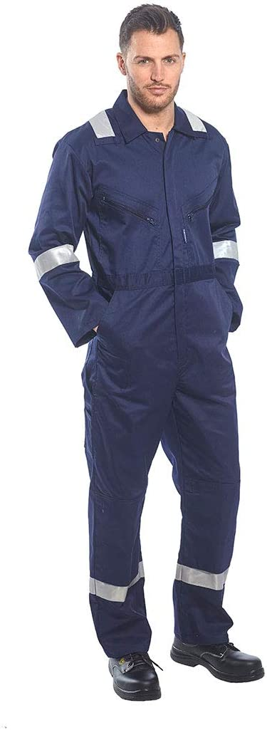 Portwest F813NARXXXL Iona Coverall 3X-Large Regular Navy