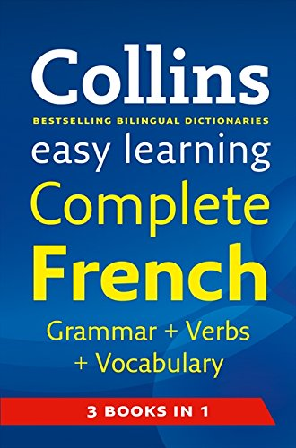 Easy Learning French Grammar, Verbs and Vocabulary (3 Books in 1) (Collins Easy Learning French) (English and French Edi