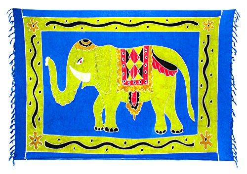 Kascha Trading - Camisola - para mujer Elefant Blau Grün