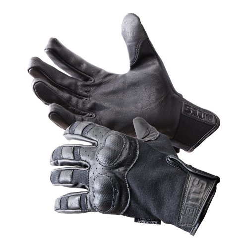 (5.11 Tactical Hard Time Glove Black, Large)