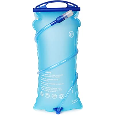 DEKINMAX Bolsa de Agua Portátil para Mochila de Senderismo Campamento Ciclismo