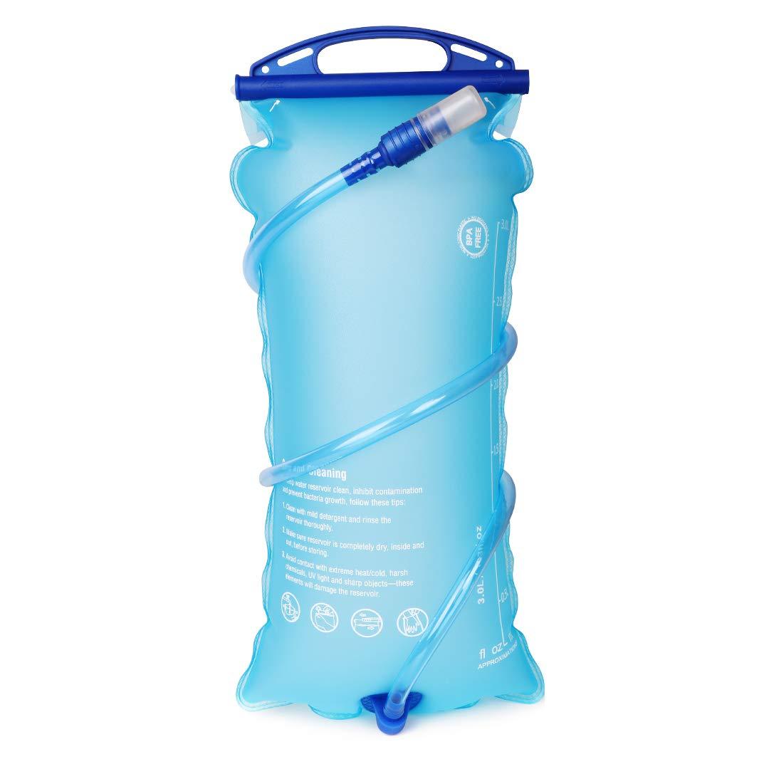 DEKINMAX Bolsa de Agua Portátil para Mochila de Senderismo ...