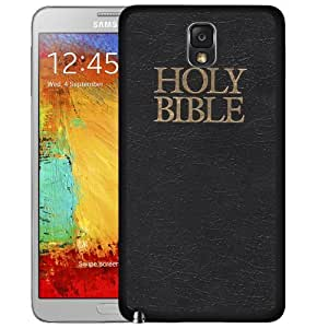 Holy Bible Hard Snap On cell Phone Case Cover Samsung Galaxy Note III 3 N9000