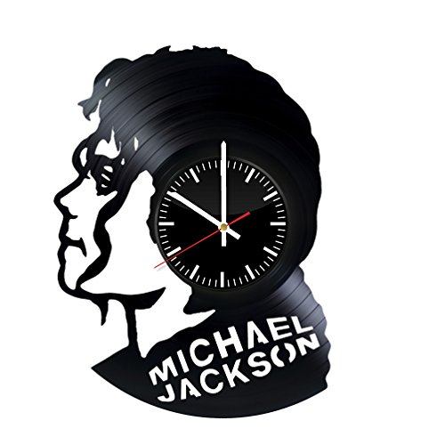 Michael Jackson Party Ideas (Michael Jackson Vinyl Record Wall Clock . Get unique home room wall art decor. Cool gift ideas for boys, girls, kids, teens, men and women.)