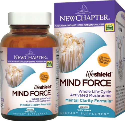 New Chapter Lifeshield Mind Force, 60 Vegetarian Capsules