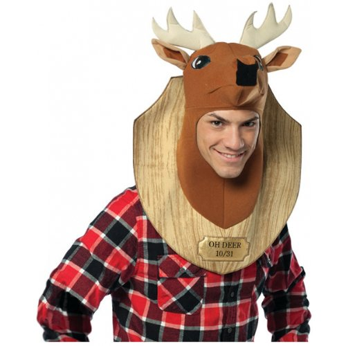 Trophy Head Deer Costume Accessory -