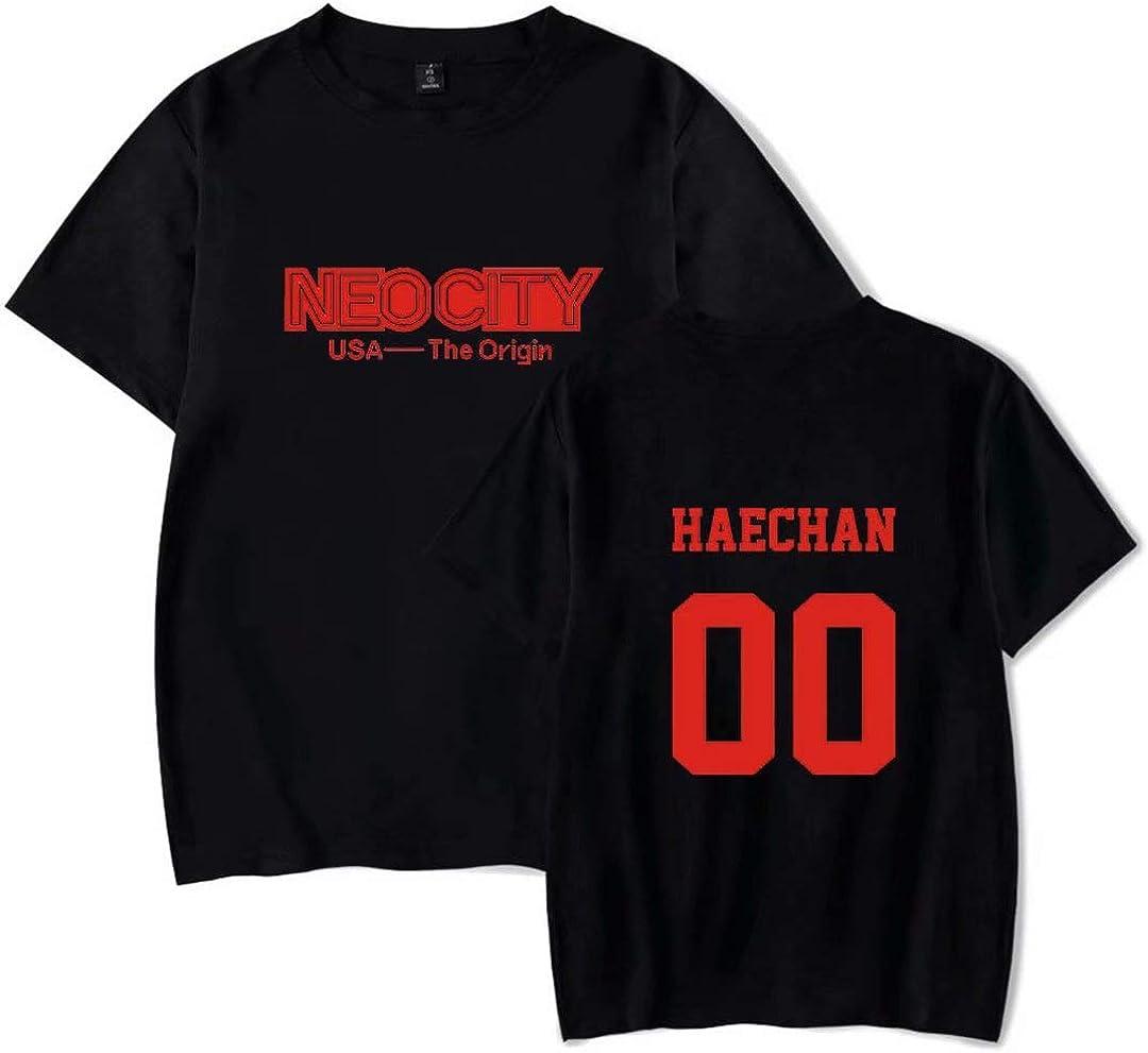 YJYP Kpop NCT 127 World Tour NEO City The Origin Tshirt Johnny Haechan Jaehyun Jungwoo Tee Shirt