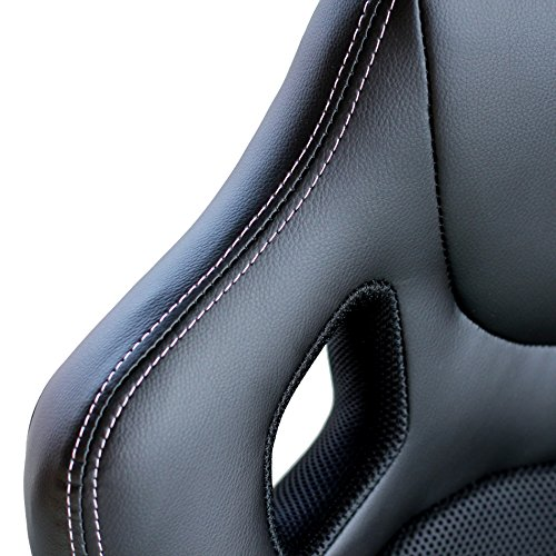 51Fz55qFIQL - Video-Gaming-Chair-Home-Office-Computer-Chair-With-Height-Adjustable-Ergonomic-Lumbar-Support-Mesh-High-Back-Racing-Chair