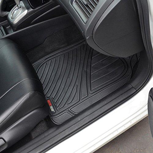 Motor trend flextough standard 4pc set heavy duty rubber for Motor trend floor mats review