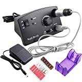 Pro 18W 30000RPM Electric Nail Drill Machine Drill File Bits Manicure Pedicure Kits Professional Nail Tools 220V/110V