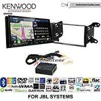 Volunteer Audio Kenwood Excelon DNX994S Double Din Radio Install Kit with GPS Navigation Apple CarPlay Android Auto Fits 2011-2013 Toyota Matrix with Amplified System