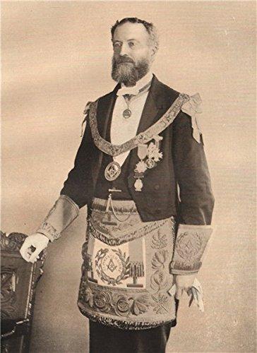 freemasonry-viscount-st-aldwyn-provincial-grand-master-of-gloucestershire-1882-old-print-antique-pri