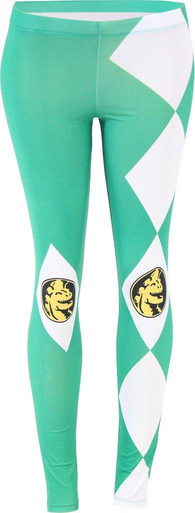 The Power Rangers Green Ranger Leggings (Juniors Large)