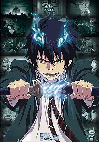 Blue Exorcist - Manga / Anime TV Show Poster / Print Rin Okumura By