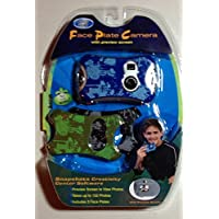 Face Plate Camera - Blue