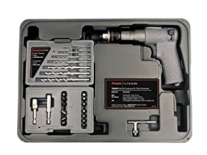 Ingersoll Rand 7804K 1/4-Inch Drive Air Drill and Driver Kit