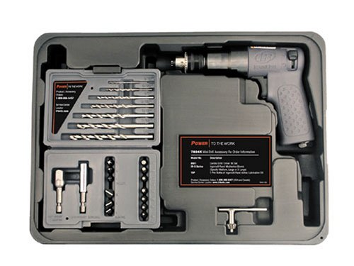 (Ingersoll Rand 7804K 1/4-Inch Drive Air Drill and Driver Kit)