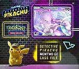 Pokemon TCG: Detective Pikachu Mewtwo-Gx Case