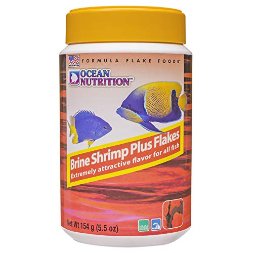 Ocean Nutrition Brine Shrimp Plus Flakes 5.5-Ounces (154 Grams) Jar