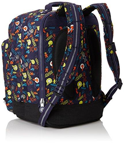 Multicolour Bright UP Blue Backpack Large Light True COLLEGE Kipling Blue qCUwRR