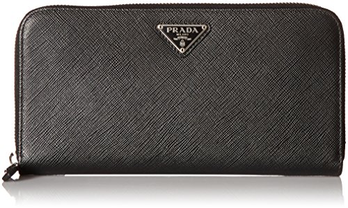 Prada Women's Saffiano Continental Wallet 1ml506qhhf0632