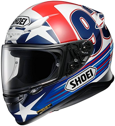 Shoei Indy Marquez RF-1200 Street Bike Racing Motorcycle Helmet - TC-2/Medium