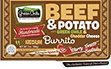 Green Chile Food Company, Beef with Potato/Green Chile/Cheddar Burrito, 7 oz, (12 count)