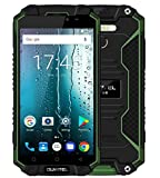 Oukitel K10000 Max 4G Smartphone 5.5 inches 10000mAh Super Large Capacity Battery IP68 Waterproof Dustproof Android 7.0 Octa Core 1.5GHz 3GB RAM 32GB ROM 16MP Camera OTG (Green)