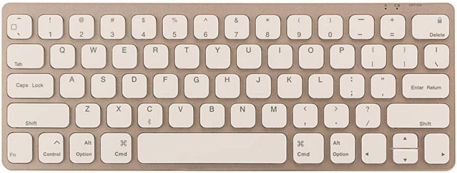 -Golden ZHEN LI Tablet PC Wireless Bluetooth Keyboard Dual Mode Keyboard Black