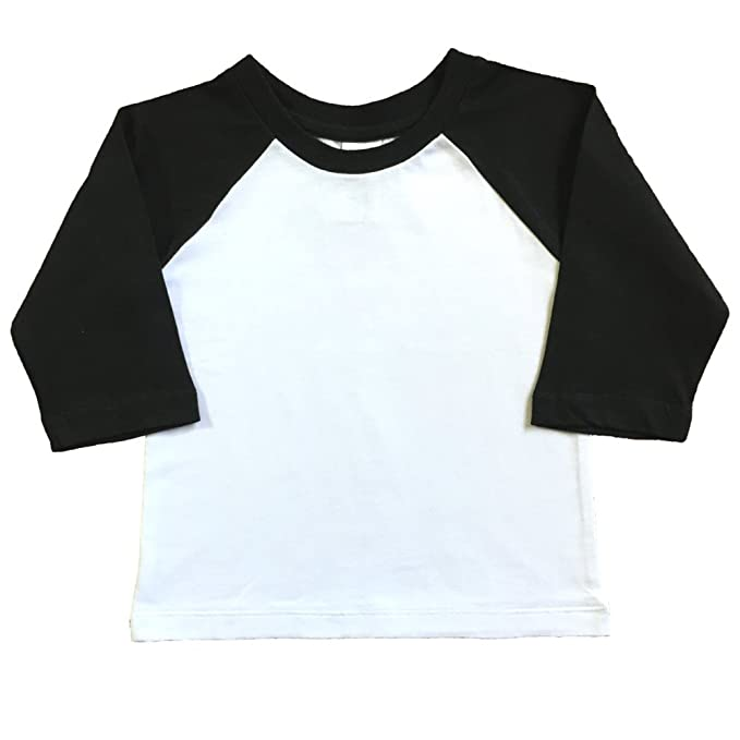 Amazon.com: Urban inteligente bebé Raglan – playera de ...