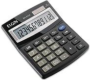 Calculadora Elgin com 12 dígitos, duplo zero MV-4124 Preta, Elgin, 42MV41240000, Preta