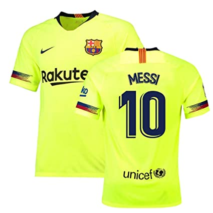 new concept ef883 7dc01 Amazon.com : 2018-19 Barcelona Away Football Soccer T-Shirt ...