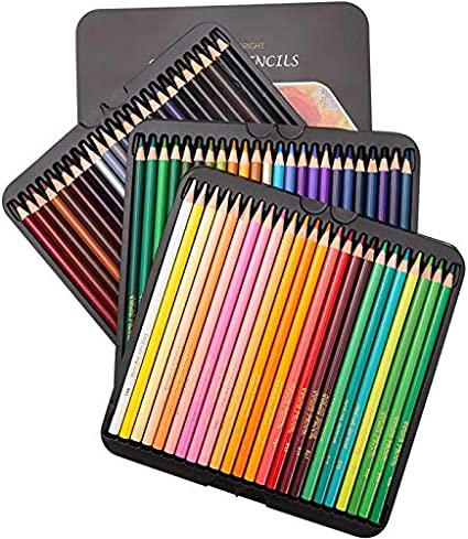 Prismacolor 72 Oil Color Pencil Set Premier Soft Premium Art Draw/_VA