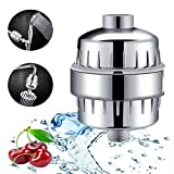 FRTZF Household bath shower water filter to remove chlorine flouride lead, Heavy Metals Sulfur Odor from Water,Can be replaced shower filter head,10-Stage water purifier