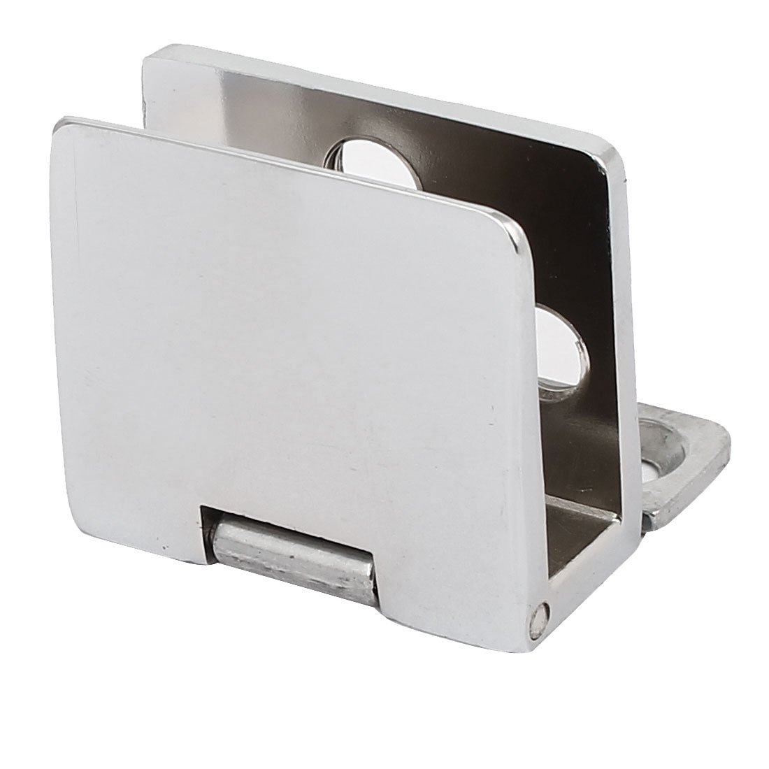 sourcingmap® Clip de cierre de Bisagras de metal para puerta de vidrio de 5mm-8mm de espesor a16120100ux0374