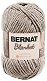 Bernat Blanket Yarn, 10.5 Ounce, Pale Grey, Single Ball