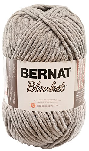 Bernat Blanket Yarn, 10.5 Ounce, Pale Grey, Single Ball (Grey Single)
