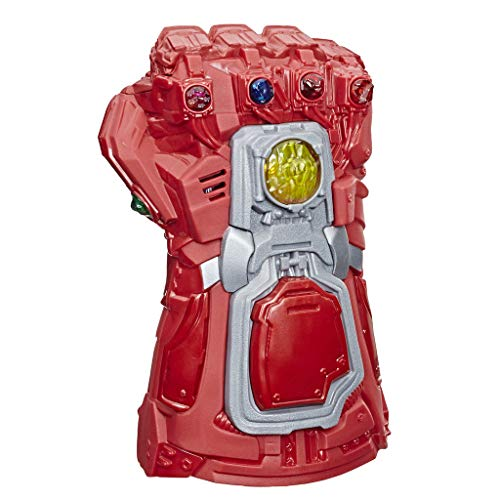 51FzC9VaQ0L - Avengers Marvel Endgame Red Infinity Gauntlet Electronic Fist Roleplay Toy with Lights and Sounds for Kids Ages 5 and Up