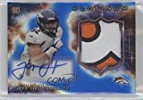 #8: Jeff Heuerman #7/25 (Football Card) 2015 Topps Platinum - Autographed Rookie Patches - Sapphire Refractor #ARP-JH