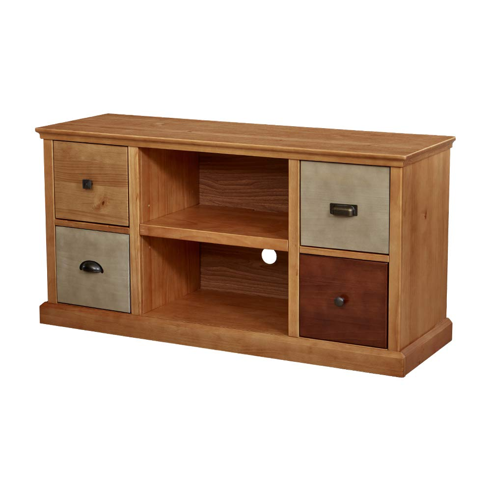 Ravenna Home Classic Solid Wood Media Center 47W