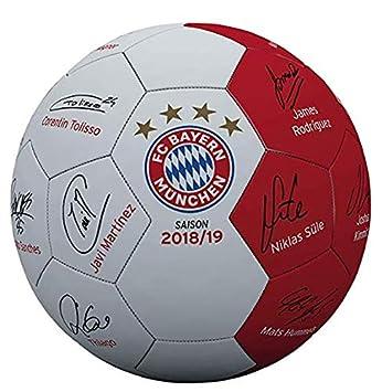 Fc Bayern Munchen Fussball Unterschriften Ball Mini Signature Gr 1